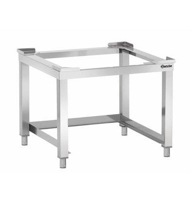 Bartscher Support Inox Pour 2 Casiers - 605x570x450(h)mm