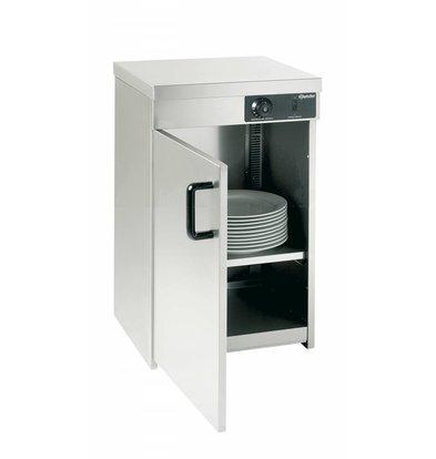 Bartscher Armoire Chauffante Inox | 25-30 Assiettes de Ø320mm | 400W | 400x400x545(h)mm