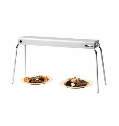 Bartscher Pont Thermique Aluminium - 650W - Sans Pieds - 760(L)mm