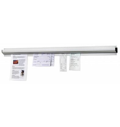 Bartscher Porte-Bons De Commandes - Aluminium - 910mm