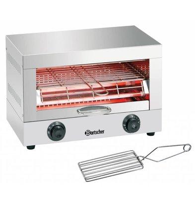 Bartscher Appareil Toaster/Gratiner Simple  - 1,7kW - Minuterie de 15min - 440x260x290(h)mm