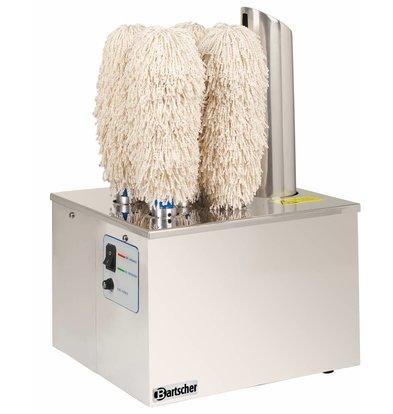 Bartscher Machine à Polir Verres - Inox - 1,1kW - 340x305x520(h)mm