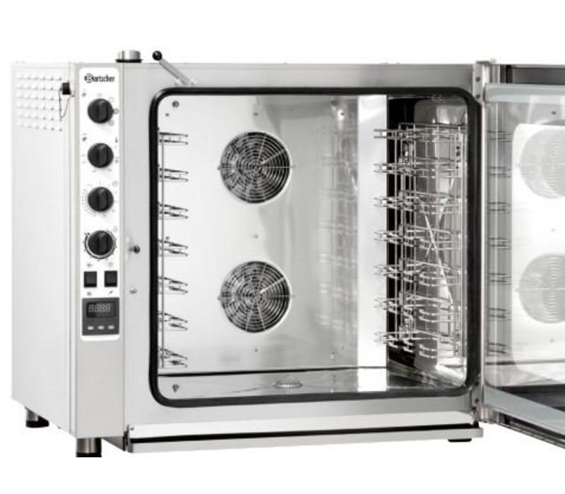bartscher four mixte vapeur inox mod le gaz 7x gn1 1 capacit 50 90 couverts. Black Bedroom Furniture Sets. Home Design Ideas