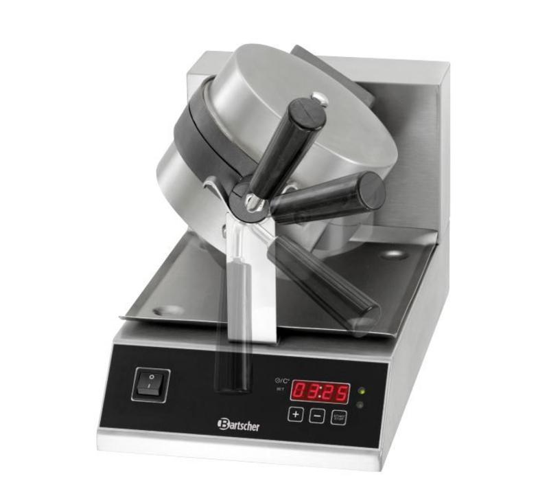 Gaufrier 'Deluxe' - Modèle Ronde et Rotative - 1kW - 250x495x385(h)mm