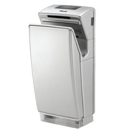 Bartscher Sèche-Mains Blanc - Boîtier Synthétique - 1,8kW/230V - 295x240x650(h)mm