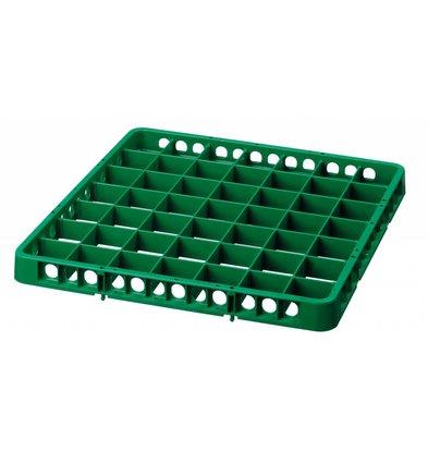 Bartscher Casier De Lavage à 49 Cases - 500x500mm - Vert