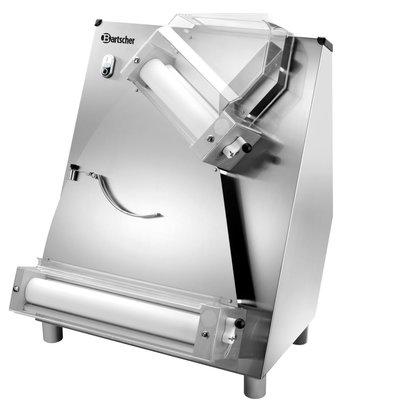 Bartscher Laminoir Inox - Réglage de L'Épaisseur de Pâte 0,3 - 5,5mm - 370W - 590x510x775(h)mm