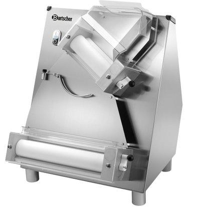 Bartscher Laminoir Inox - Réglage de L'Épaisseur de Pâte 0,3 - 5,5mm - 370W - 490x510x655(h)mm