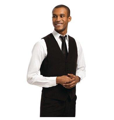 CHRselect Gilet Noir pour Homme   Staff Uniforms   Disponible en 4 Tailles