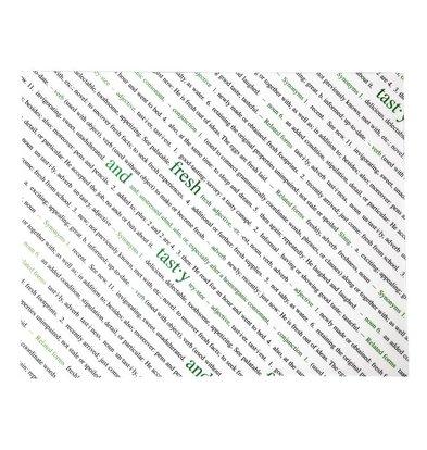 CHRselect Papier Sulfurisé | Avec Texte | 255x203mm | 500 Pièces