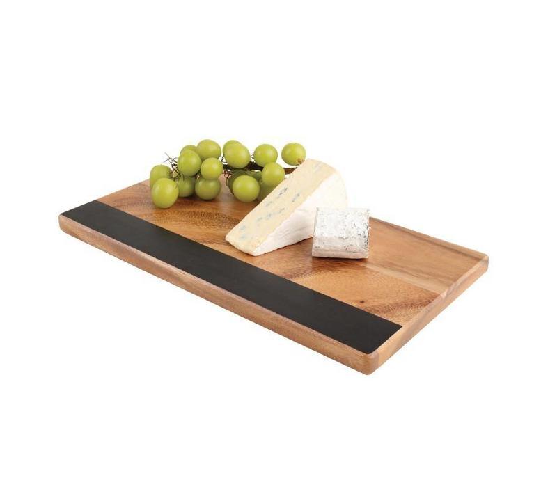 Chrselect planche avec bande en ardoise t g woodware for Planche ardoise cuisine