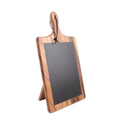 CHRselect Planche en Ardoise avec Support | T&G Woodware | 25x220x385(h)mm