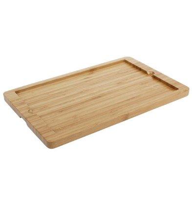 CHRselect Planche pour Plat en Ardoise | Bois | 330x210x15(h)mm