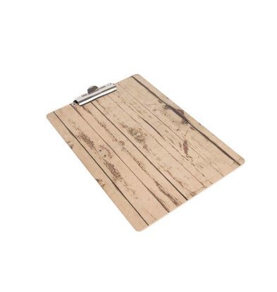 CHRselect Plaque Porte-Menu Bois A4 | 230x330(h)mm
