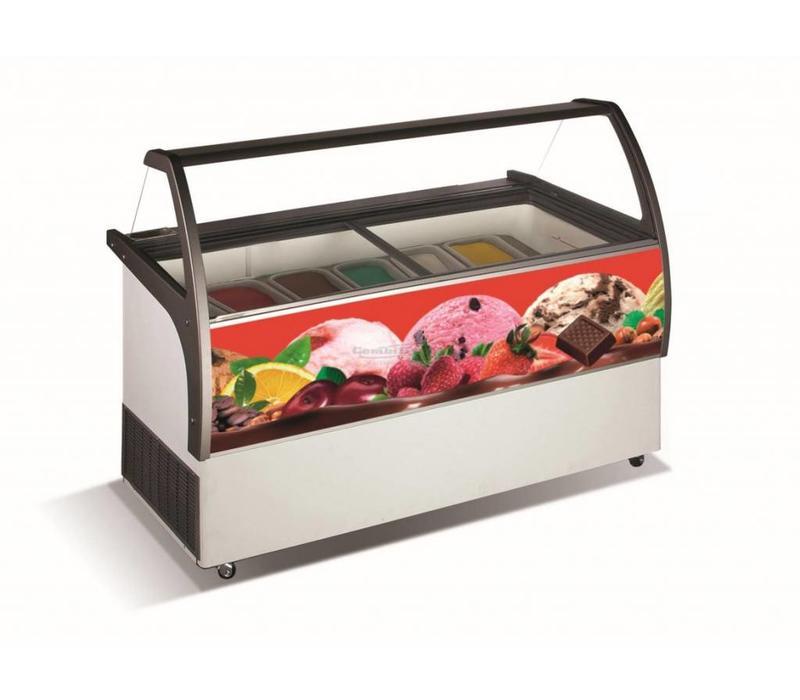 chrselect vitrine glace malta 13x 5 litres 858x1672x1257 h mm. Black Bedroom Furniture Sets. Home Design Ideas