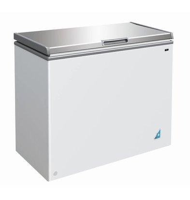 CHRselect Coffre Congelé Inox | 201 Litres | 950x550x810(h)mm
