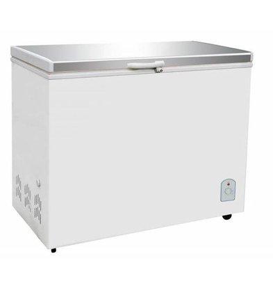 CHRselect Coffre Congelé | Couvercle Inox | 260 Litres | 130W | 1055x575/630x845(h)mm