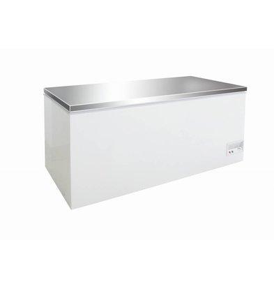 Combisteel Coffre Congelé | Couvercle Inox | 526 Litres | 130W | 1604x675/720x860(h)mm