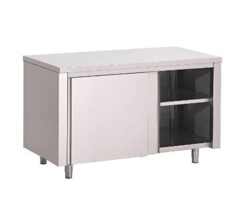 meuble de travail inox usage intensif 700 p x850 h mm 7 largeurs diff rentes. Black Bedroom Furniture Sets. Home Design Ideas