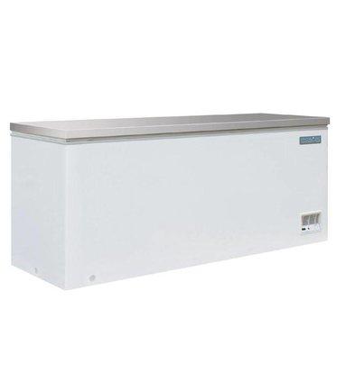 Polar Congélateur Coffre Blanc | Couvercle Inox | 587 Litres | 688(p)x1995(l)x845(h)mm