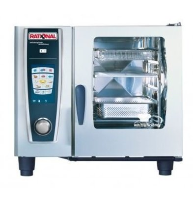 Rational Rational Four Mixte SCC 61E Électrique | Self Cooking Center Type 61 | 6 x 1/1 GN | 30-80 Couverts