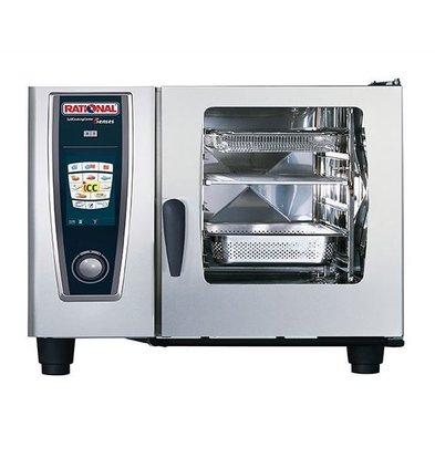 Rational Rational Four Mixte SCC 62E Électrique | Self Cooking Center Type 62 | 6 x 2/1 GN | 60-160 Couverts