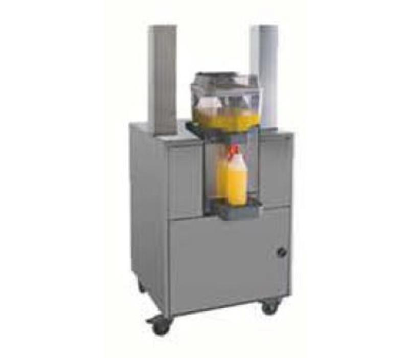 Zumoval distributeur stand frigo zumoval meuble pour basic bigbasic top fasttop - Meuble pour frigo top ...