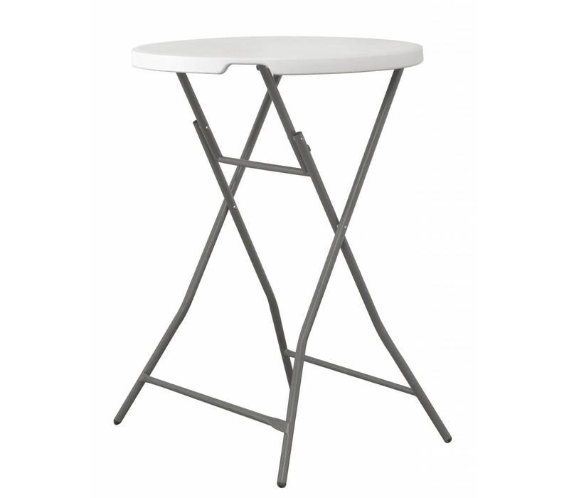 hendi table haute rond pliable 800x1100 h mm. Black Bedroom Furniture Sets. Home Design Ideas