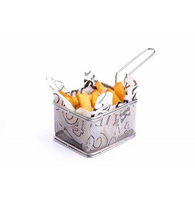 Hendi Panier à Frites Miniature | 100x80x65(h)mm