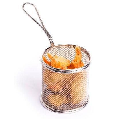 Hendi Panier à Frites Miniature | Ø90x90(h)mm