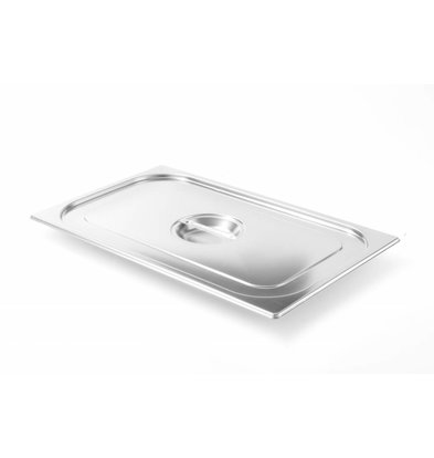 Hendi Couvercle Gastronorme 1/9 | Modèle Solide