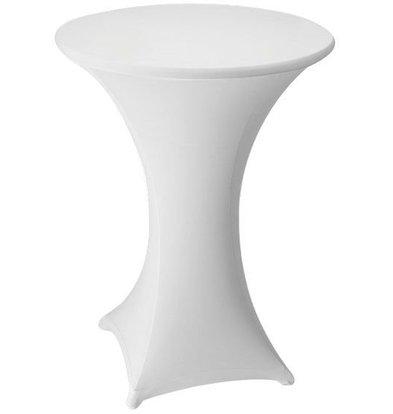 Unicover Housse de Table Cocktail VENUS | Blanc | Disponibles en 3 Tailles
