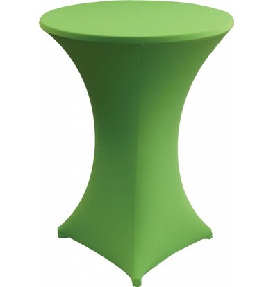 Unicover Housse de Table Cocktail VENUS | Vert Anis | Disponibles en 3 Tailles