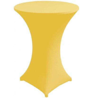Unicover Housse de Table Cocktail VENUS | Jaune | Disponibles en 3 Tailles