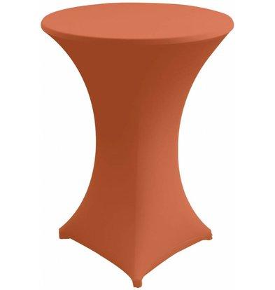 Unicover Housse de Table Cocktail VENUS | Orange | Disponibles en 3 Tailles