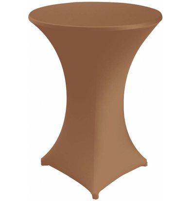 Unicover Housse de Table Cocktail VENUS | Chocolate | Disponibles en 3 Tailles