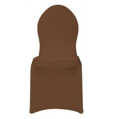 Unicover Housse de Chaise Banquet MERCURY | Chocolate | Taille Unique