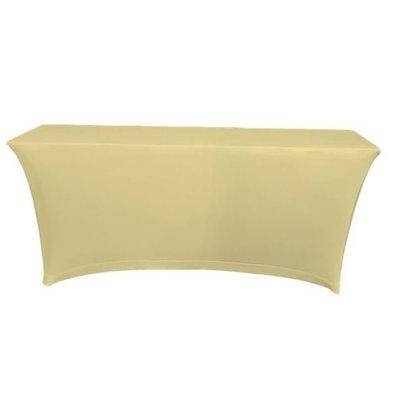 Unicover Housse de Table Banquet SATURN | Crème | Disponibles en 2 Tailles