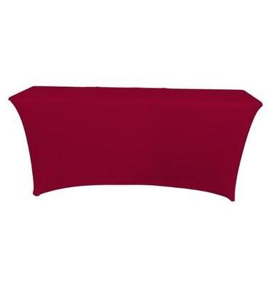Unicover Housse de Table Banquet SATURN | Bordeaux | Disponibles en 2 Tailles