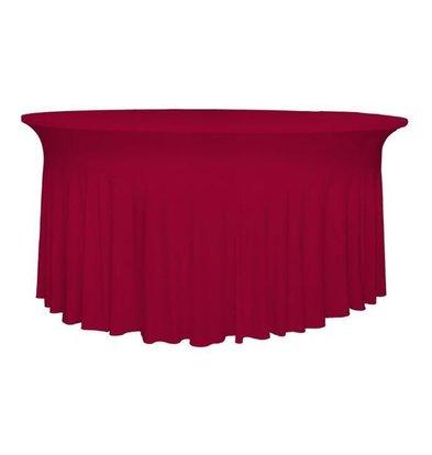 Unicover Housse de Table Banquet DELUXE | Bordeaux | Disponibles en 3 Tailles