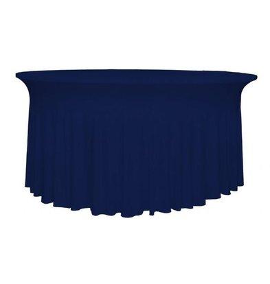 Unicover Housse de Table Banquet DELUXE | Bleu Foncé | Disponibles en 3 Tailles
