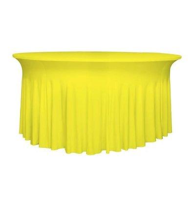 Unicover Housse de Table Banquet DELUXE | Jaune | Disponibles en 3 Tailles
