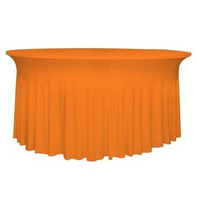 Unicover Housse de Table Banquet DELUXE | Orange | Disponibles en 3 Tailles