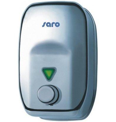 Saro Distributeur de Savon Liquide | 1800ml | Bouton