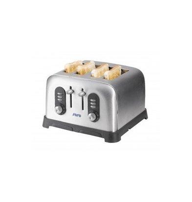 Saro Toaster Américain | 4 Tranches | avec Minuteur