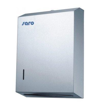 Saro Distributeur D'Essuie Mains INOX | 280x100x380(h)mm