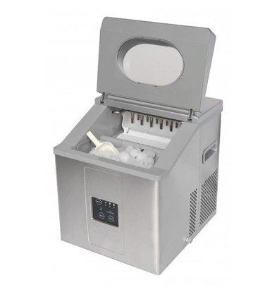 Saro Machine à Glaçons INOX   15kg/24h   Modèle pour 3 Tailles de Glaçons