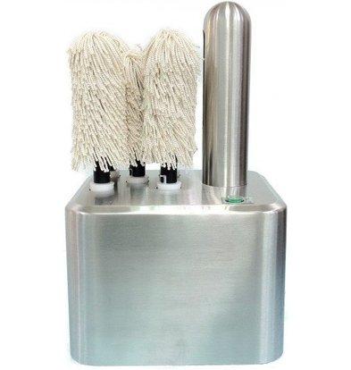 Saro Machine à Polir les Verres | 5 Brosses | 1,25kW