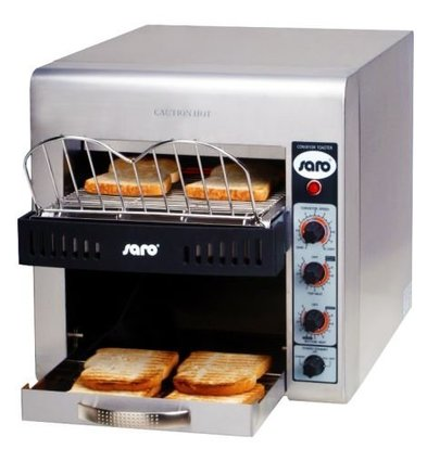 Saro Toaster à Convoyeur | 3kW | 370x580x400(h)mm
