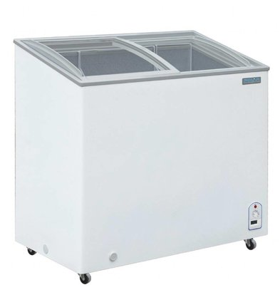 Polar Congélateur Coffre Vitré | 200 Litres | 953x553x920(h)mm